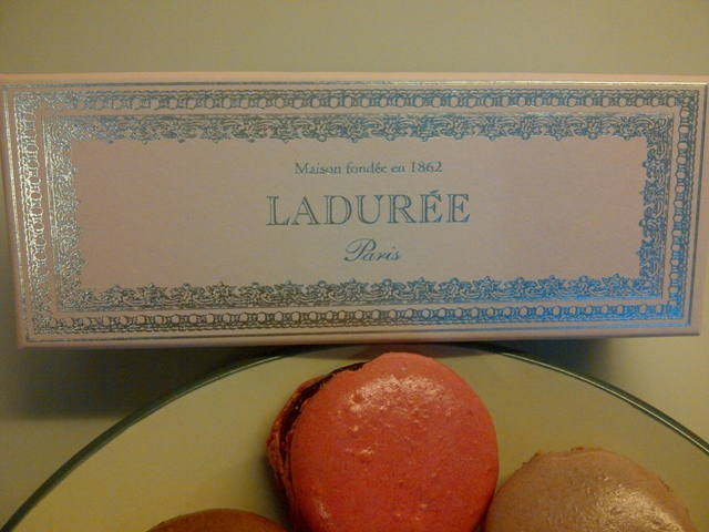 Ladurée Macaroons and Box
